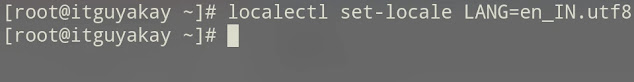 language setting in redhat linux