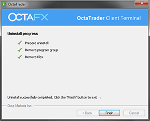 Uninstall MetaTrader 4 pada OS Windows