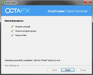Uninstall MetaTrader 4 pada OS Windows