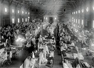 Enfermarias na primeira guerra mundial