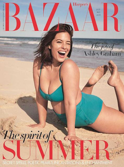 Nàng béo Ashley Graham tròn đầy quyến rũ với áo bơi