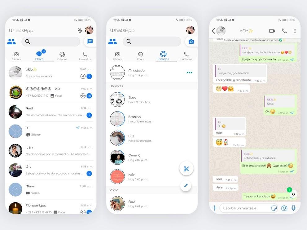 IOS Awesome Theme For YOWhatsApp & GB WhatsApp By Ethel