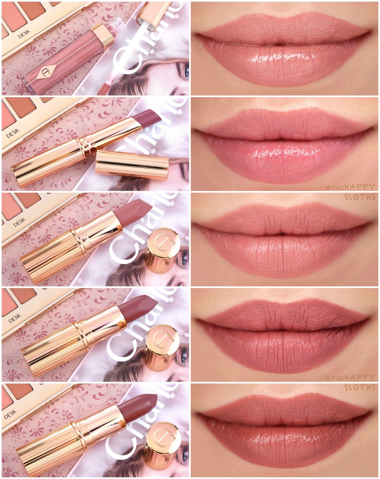 Charlotte Tilbury | *NEW* Pillow Talk Collection: Review and Swatches