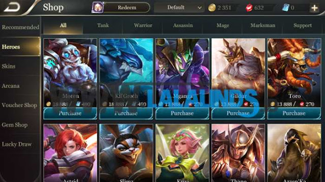 Download Arena Of Valor Versi Taiwan English Patch Full OBB
