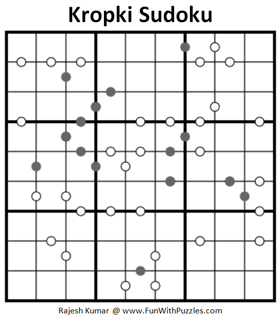 Kropki Sudoku (Fun With Sudoku #225)