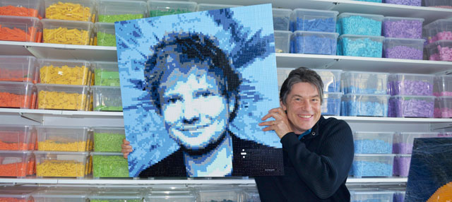 amazings, aanbod, portret, ed sheeran, lego