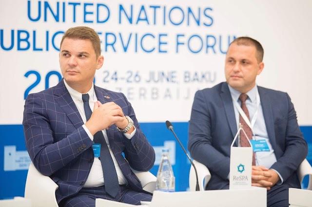 Šahmanović u Bakuu govorio o profesionalizaciji javne uprave