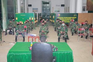 Arahan Komandan Kodim 0820/Probolinggo Kepada Seluruh Anggotanya