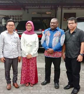 Dewan Perwakilan Provinsi Papua Datang Ke Lombok Pastikan Pelajar Papua Aman