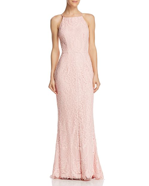 Floral Lace Gown - 100% Exclusive