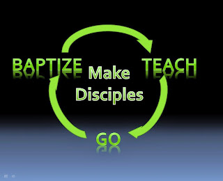 Make Disciples - Go, Baptize, Teach