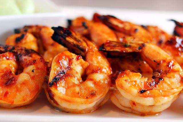 Marinated Grilled Shrimp - 1