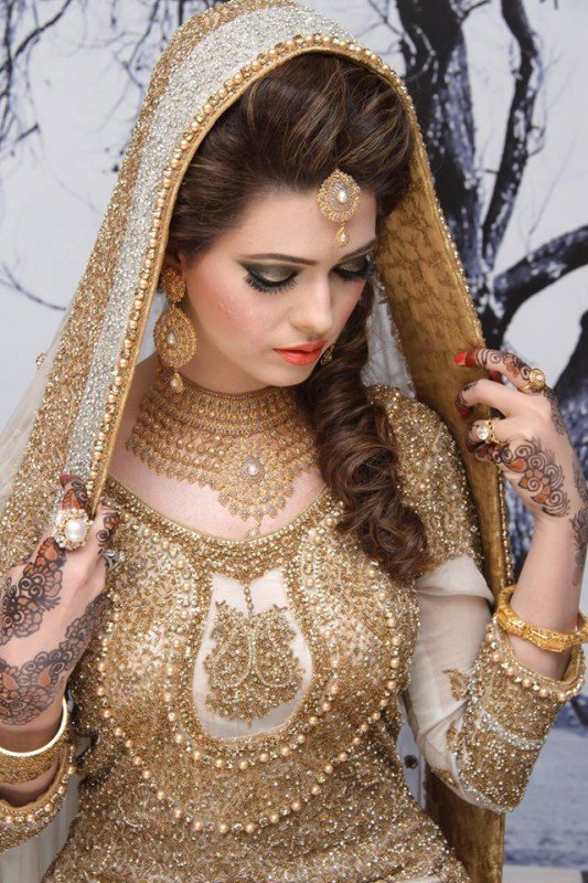 Kasheeu0026#39;s Sensational Bridal Hairstyling U0026 Makeup By Kashif Aslam - Stylish Clothes For Women
