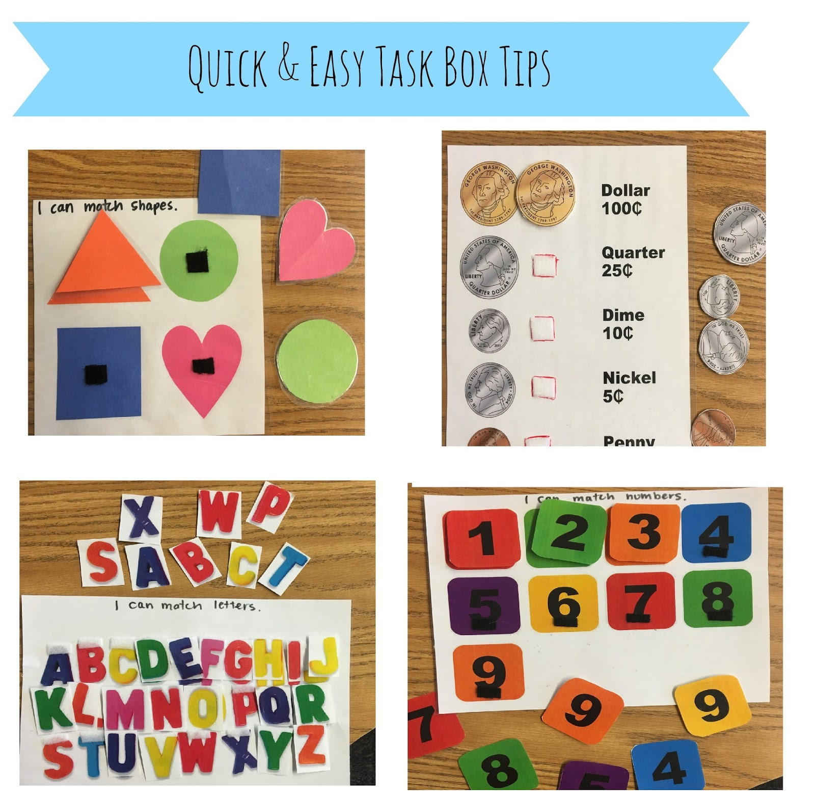 Little Miss Kim S Class Quick And Easy Task Box Ideas