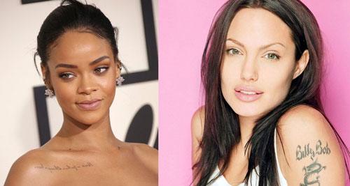 Hollywood Stars with Tattooed Eyebrow