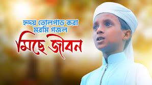 মিছে জীবন গজল লিরিক্স (Miche Jibon Lyrics) Hujaifa Islam Kalarab