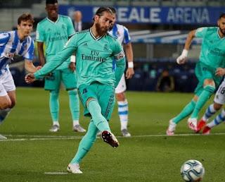 Ramos llega a una nueva cifra con el escudo madridista