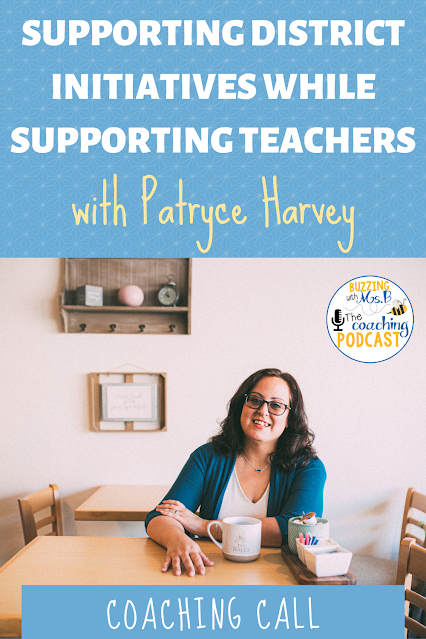 Instructional coaches need to support teachers while also ensuring that school initiatives get implemented successfully. This can be hard to juggle. In this episode, I'm joined by Coffee and Coaching member Patryce Harvey. We discuss how to meet district-wide initiatives while supporting teachers' wants and needs. This episode has lots of tips including, how to tier your help and gather feedback from the staff.