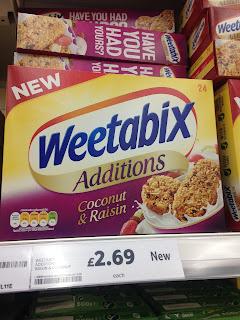 Weetabix Additions Coconut and Raisin