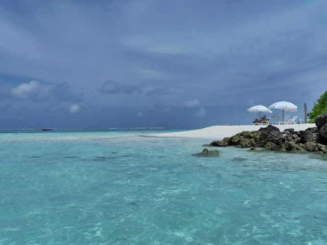 Playa norte de Diffushi