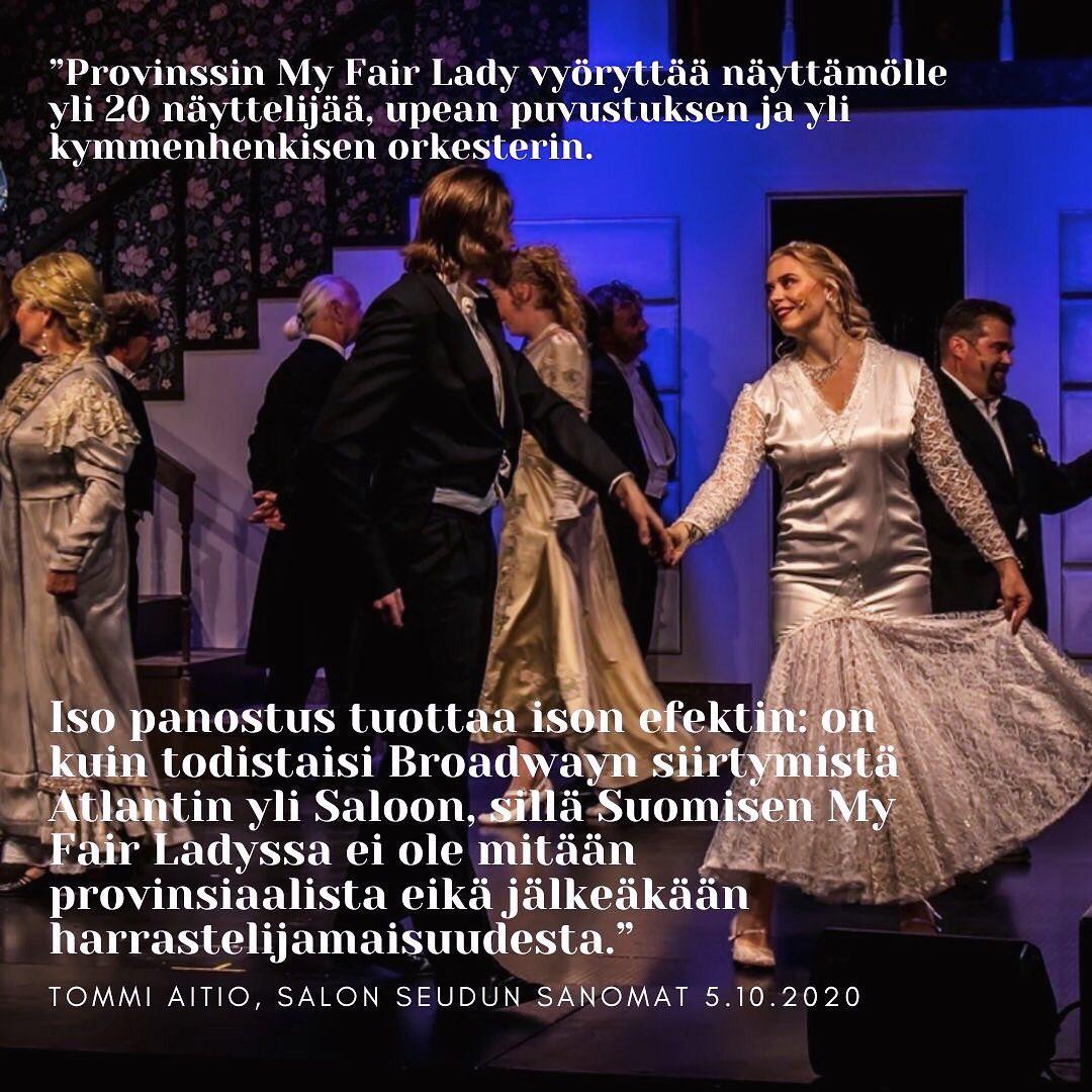 MyFairLady teatteri provinssi SSS arvostelu