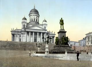 Senatstorget cirka år 1900.