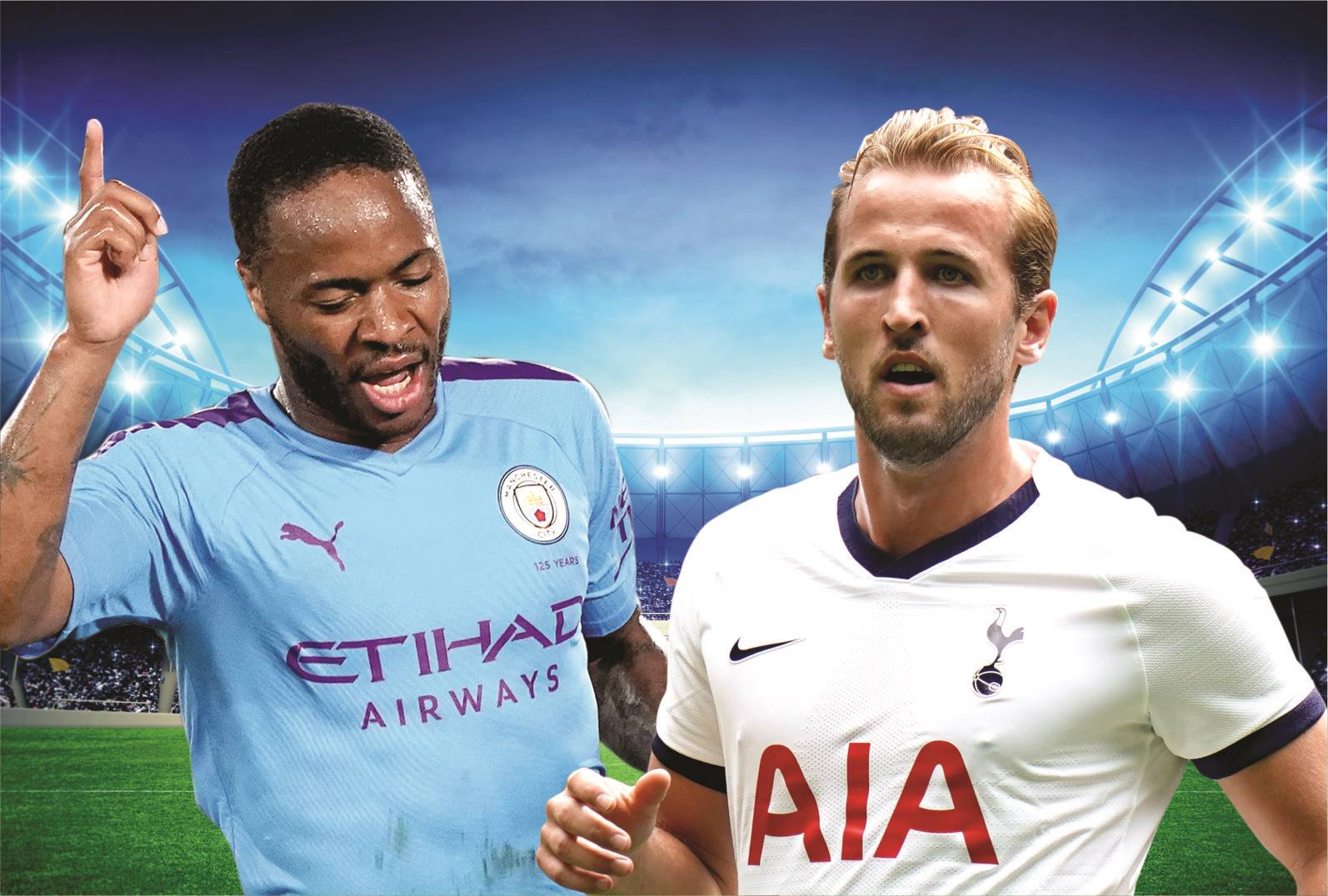 English Premier League: Manchester City vs Tottenham