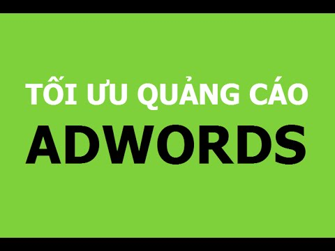 Tối ưu điểm chất lượng Quảng Cáo Google Adwords