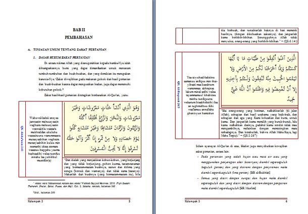 Contoh Makalah Zakat dan Wakaf
