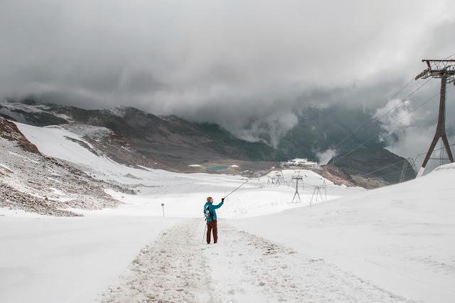 Stubaital - Vom Eisjoch zur Dresdner Hütte Gletscherpfad und Gletscherweg  Wanderung-Stubaital  Wandern-Tirol 05