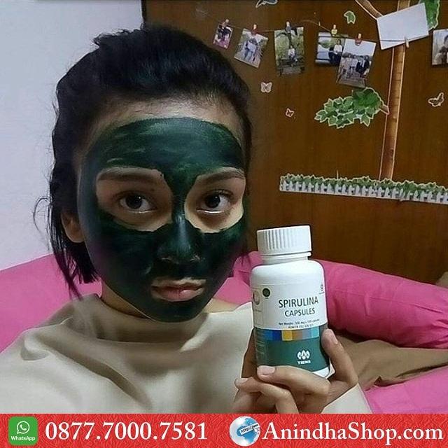 Masker Spirulina Bogor