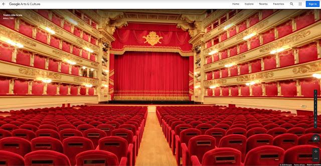 Teatro La Scala de Milão disponível online no Google Arts & Culture