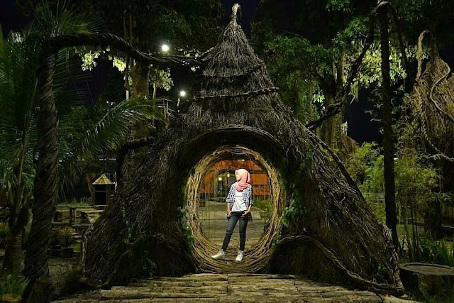 Wahana Menarik Spot Slefie Park Taman Pule Kota Yogyakarta