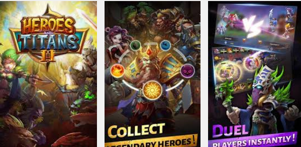 Heroes and Titans 2 Mod Apk