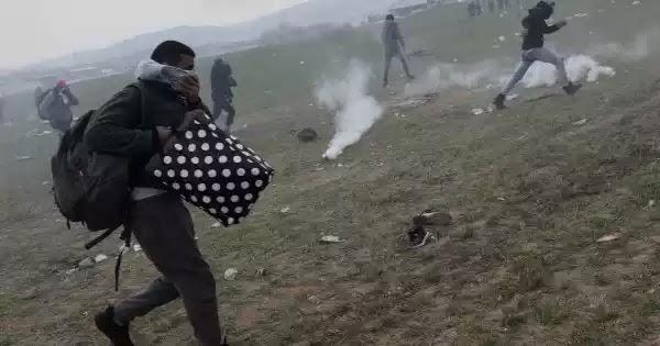 Έφοδος χιλιάδων Αφγανών στην πόλη της Μυτιλήνης: Σφοδρές συγκρούσεις με την Αστυνομία - Σε επιφυλακή ο Στρατός