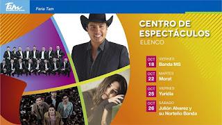 centro de espectáculos feria tamaulipas 2019