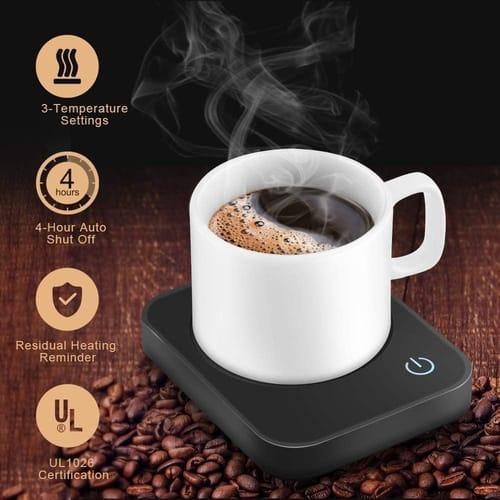 VOBAGA Electric Coffee Mug Warmer for Desk