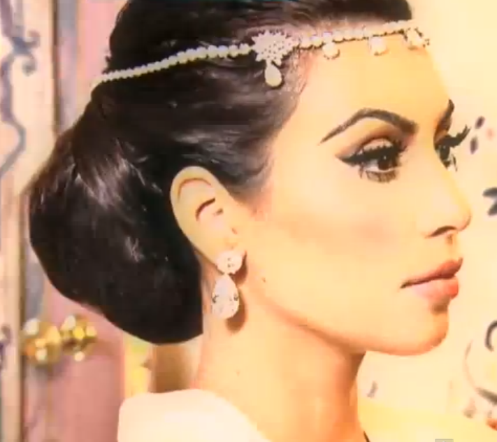 Overdose: Kim Kardashian's wedding Hair & make-up: All the ...