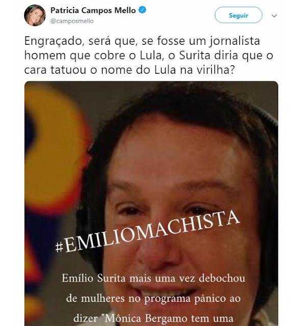 Emílio Surita machista
