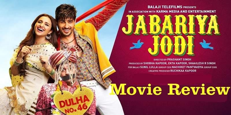 Jabariya Jodi Movie Review Poster