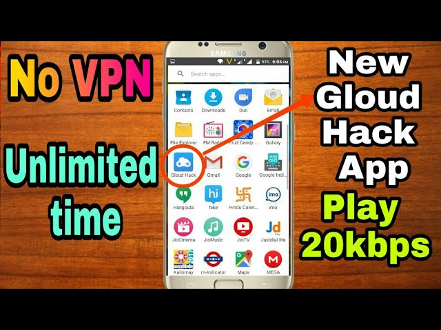 PLAY ON 20KBPS ON NEW Gloud game hack not use VPN FOR ANY