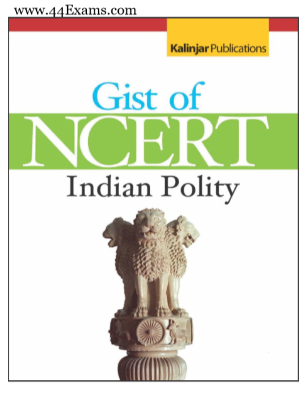 Gist of NCERT Indian Polity : For UPSC Exam PDF Book