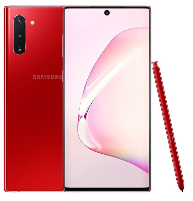 Samsung Galaxy Note 10 Aura Red