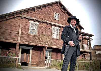 Robert Bronzi as the gunslinger in ONCE UPON A TIME IN DEADWOOD.