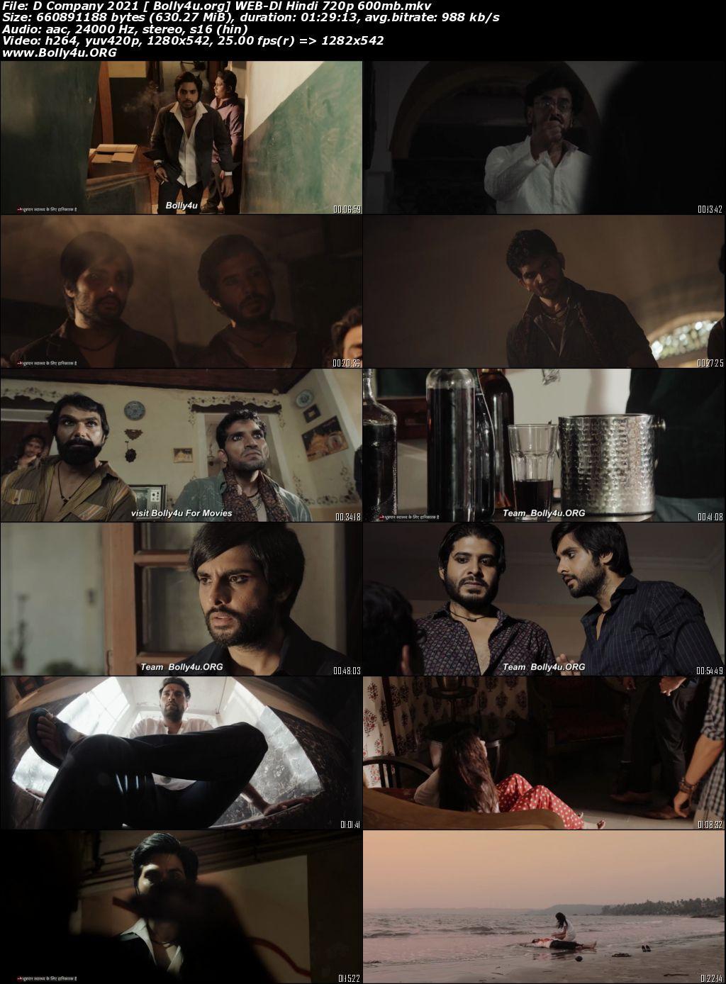 D Company 2021 WEB-DL 600Mb Hindi Movie Download 720p