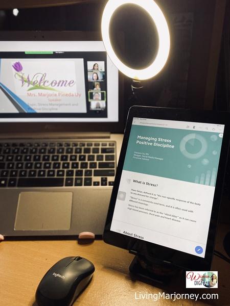Recommended Set up for Webinar