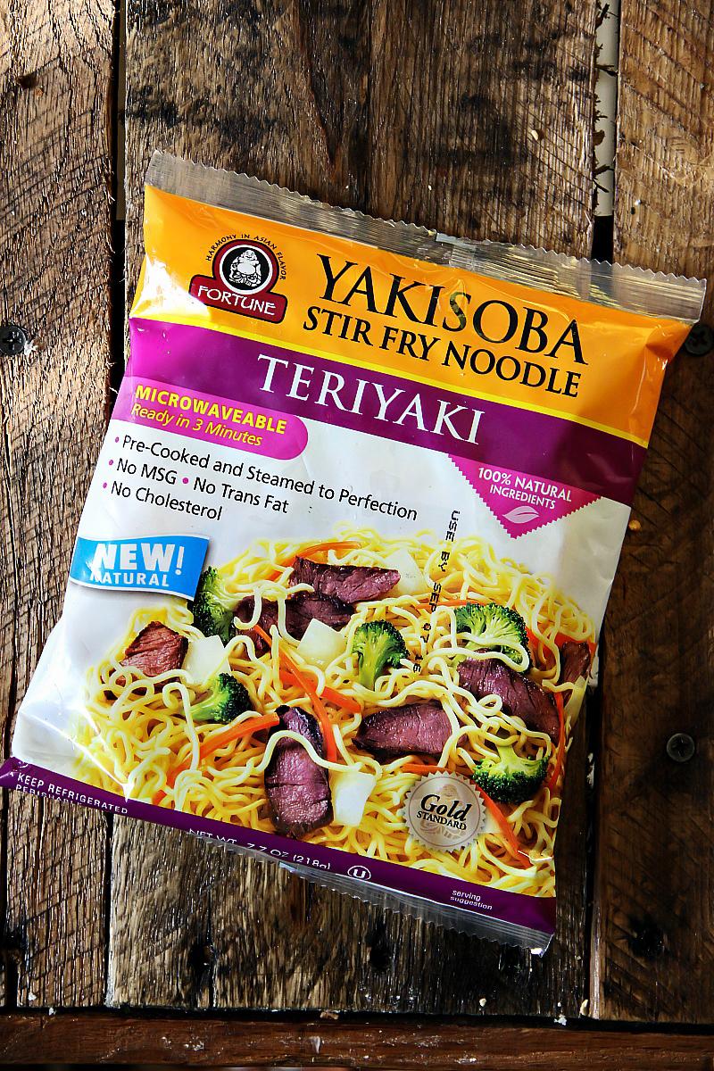 Yakisoba - Teriyaki Flavor www.sandraseasycooking.com