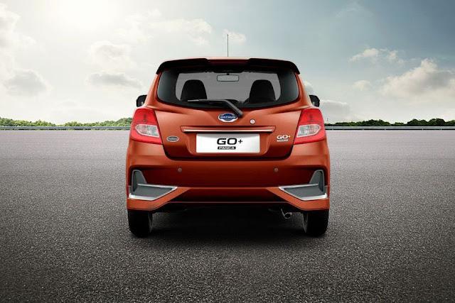 New 2018 Datsun GO Plus Facelift Rear view