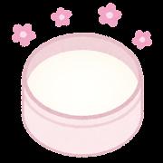 練り香水のイラスト