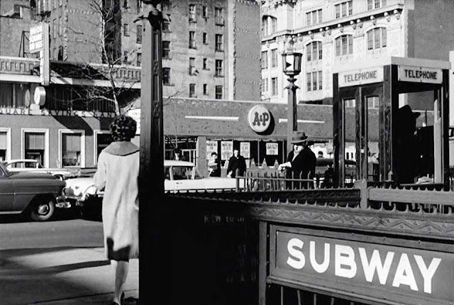 First Avenue at 14th Street, NYC, in 1962, randommusings.filminspector.com